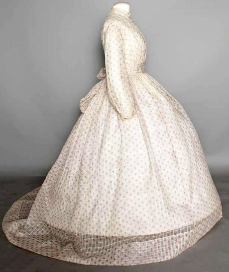 Dimity gown