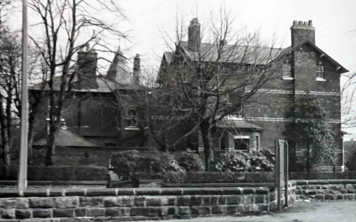 Lancaster Road view of Cleveland House, Eccles Old Road