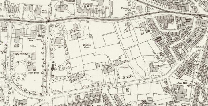 1922 OS map
